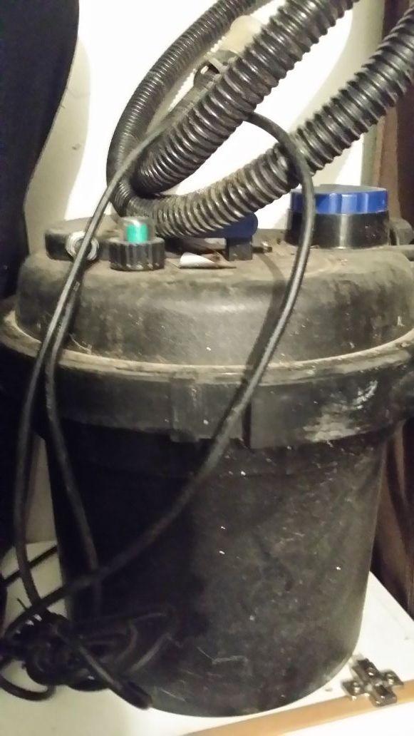 Filtro estanque a presión