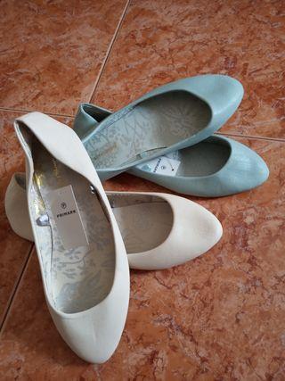 zapatos plano