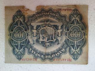 Billete de 100 pesetas 1906