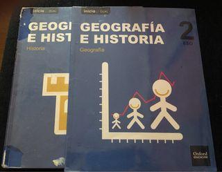 GEOGRAFÍA E HISTORIA 2ESO Ed Oxford