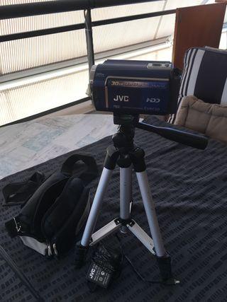 """Cámara Digital """"JVC"""" 30GB de memoria"""