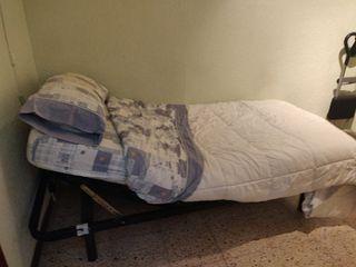 Cama articulable con colchón 90 cm