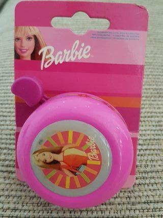 Timbre bicicleta Barbie