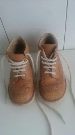botas estilo kikers numero 34