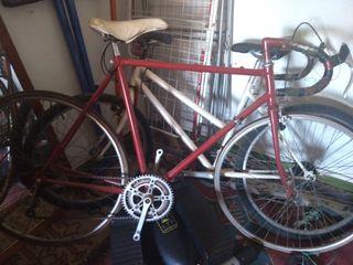 bicicleta ciclista antigua