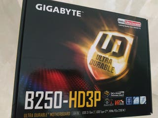 Placa base gigabyte B250HD3P