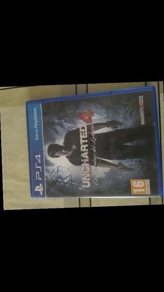 Uncharted + FIFA ps4