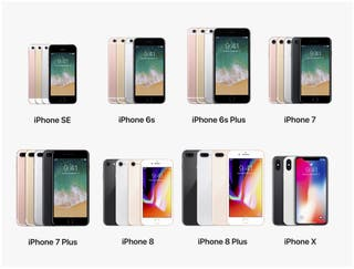 iPhone 6, 6S plus , 7 , 7 plus , 8 disponibles