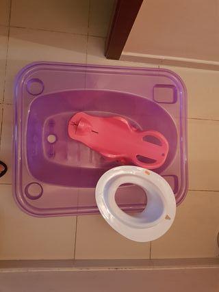 bañera para bebés