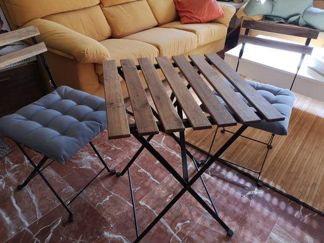 Mesa Y Sillas Jardín O Terraza Ikea De Segunda Mano Por 30