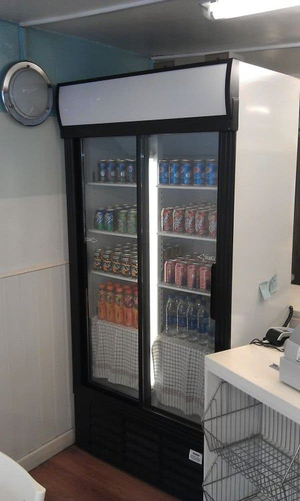 Nevera bebidas - - doble door fridge drinks