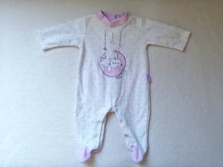 Pijama pelele bebé Yatsi 1m