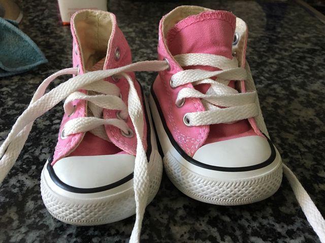 Playeros converse bebé n 19 rosa
