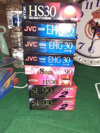 Cinta VHS formato pequeño