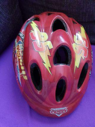 casco infantil de niño para bici