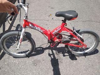 "bicicleta para niño 16"""