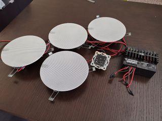 Sistema de audio techo EGi