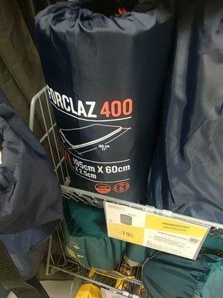 2 unid colchón camping inflable nuevo un solo uso