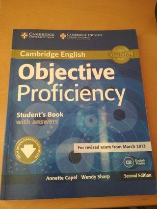 Libro inglés Objective Proficiency