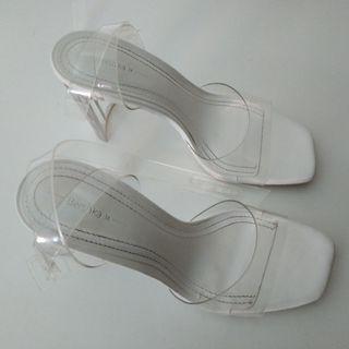 Zapatos transparentes Bershka