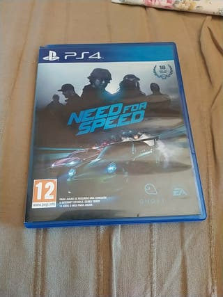 Juego Need for speed Ps4