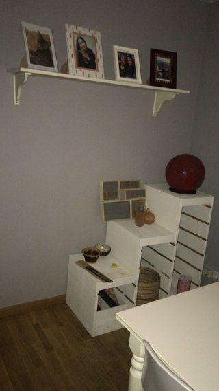 Mueble blanco palet