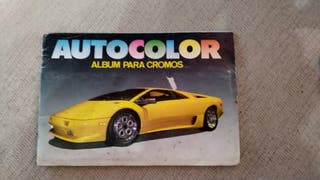 Album de cromos coches