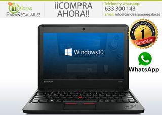 Portátil Lenovo X131e, Cam / i3 / 500Gb / Windows