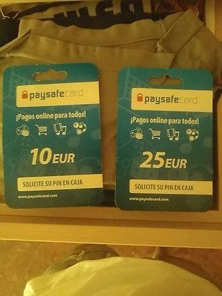 tarjetas paysafe card