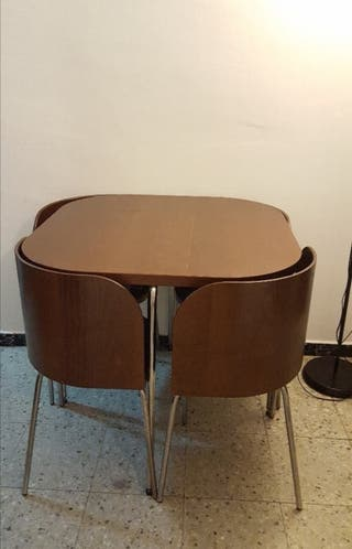 mesa con 4 sillas ikea