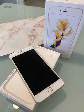 iPhone 6s Plus 128gb oro