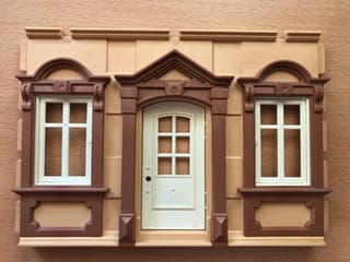 Playmobil pared frontal casa victoriana 5300