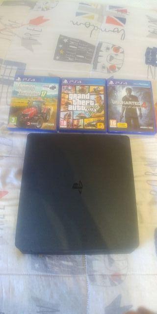 PS4 1TB + 3juegos
