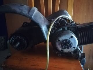 motor Piaggio 50 vespa lx50