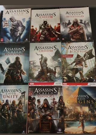 Guías oficiales Assassin's Creed Coleccionista