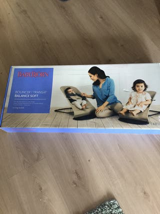 Hamaca babybjorn modelo soft. Con caja original