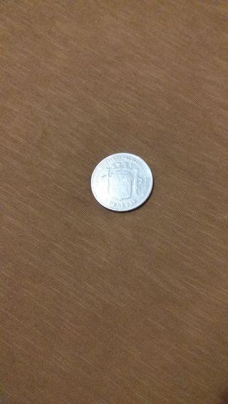 moneda 1870 plata 900 mlesmas 40 piezas