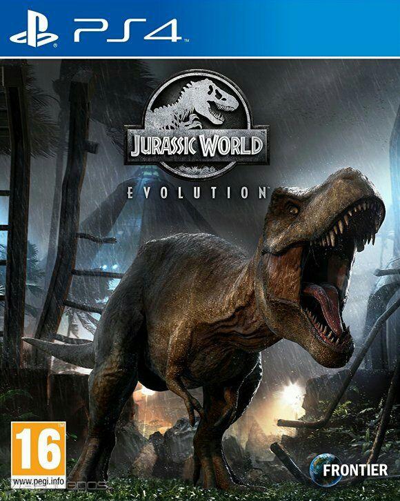 Jurrassic World - Evolution - Ps4