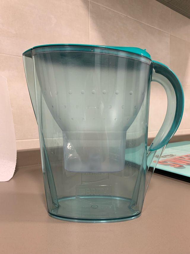 Jarra de agua Brita con 4 filtros