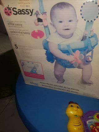 silla saltarina para bebés