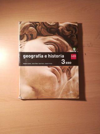 Libro Geografía e Historia 3°E.S.O SM