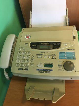 Fax y fotocopiadora