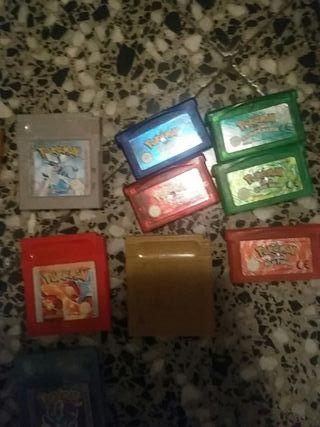 Todos los juegos de gameboy de pokemon
