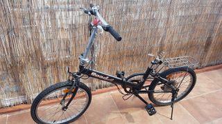 bicicleta plegablr