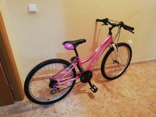 bicicleta wenti de montaña