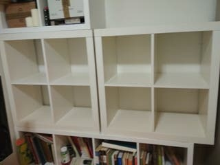 mueble kallax ikea estanteria