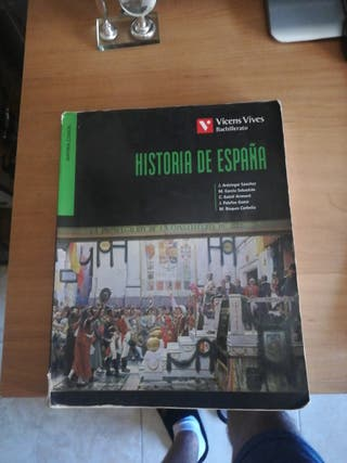 libro de historia de españa 1° bach