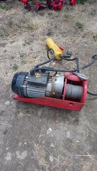 cabestrante polipasto eléctrico 220v