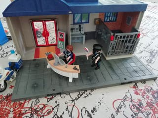 comisaría maletín Playmobil