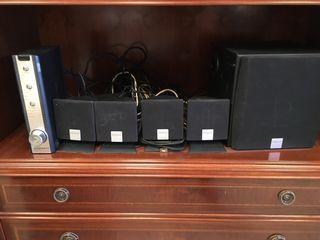 Equipo audio altavoces dolby surround